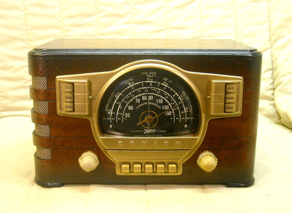 Quality Antique Radios Radio Sales Auctions Restorations. 1941 Zenith Model 7s529. Wiring. Zenith Tube Radio Schematics 1938 At Scoala.co