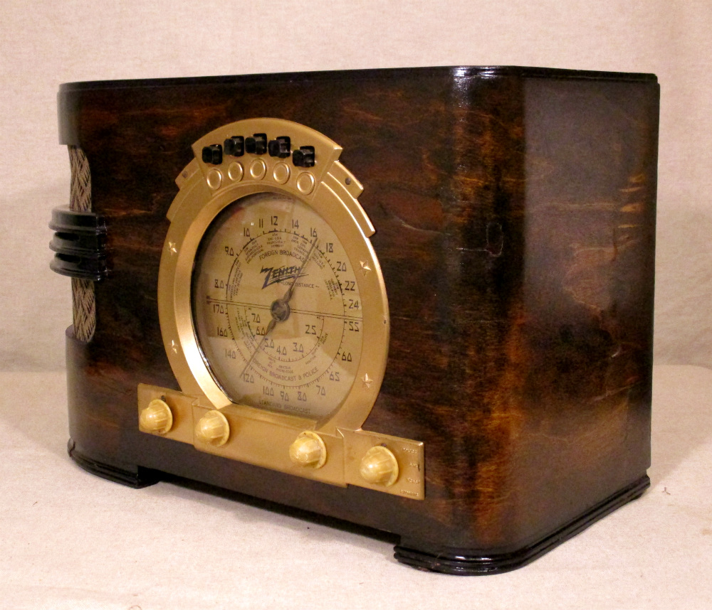 1939 Zenith Model 6-S-321 - Quality Antique Radios – Antique Radio Sales, Auctions, Restorations